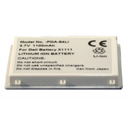 Dell Axim X3 3.7V 950mAh Li-Ion PDA (or MP3) Battery, PDA-54LI