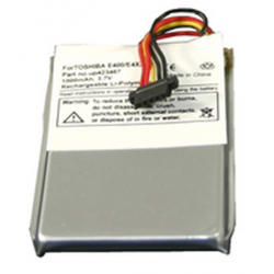 TOSHIBA E400 / E405 3.7V 1000mAh Li-Ion PDA (or MP3) Battery, PDA-57LI