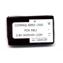 Compaq Aero Series 3.7V 850mAh Li-Ion PDA (or MP3 Player) Battery