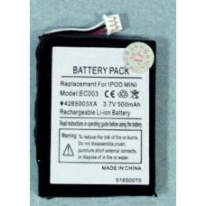 iPod Mini Series 3.7V 500mAh Li-Ion PDA/MP3 Battery, PDA-67LI