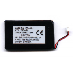 Handspring Treo 3.7V 600mAh Li-Ion PDA (or MP3) Battery, PDA-6LI