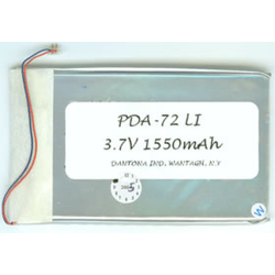 Samsung Napster 3.7V 1550mAh Li-Ion PDA/MP3 Battery, PDA-72LI
