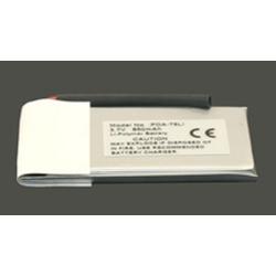 Palm Tungsten E 3.7V 850mAh Li-Ion PDA (or MP3) Battery, PDA-79LI