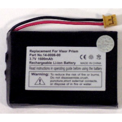 Handspring 3.7V 1600mAh Li-Ion PDA (or MP3) Battery, PDA-7LI