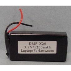 SAMSUNG BEX134KSE 3.7V 1200mAh LI-ION PDA (or MP3) Battery, PDA-83LI