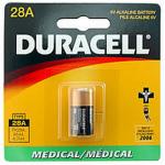 Duracell PX28A, 4LR44 6 Volt Alkaline Battery, PX28ABPK