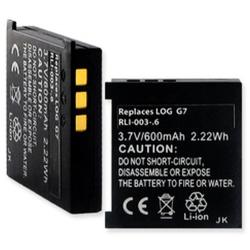 Logitech G7 3.7v 600mAh Remote Control Battery, RLI-003-06