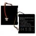 Logitech MX Revolution 3.7v 600mAh Remote Control Battery, RLI-004-06