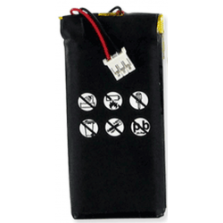 Philips 530065 3.7V 1700mah Li-Poly Remote Control Battery, RLP-017-107