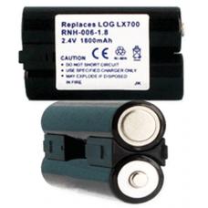 Logitech LX700 2.4v 1800mAh NiMH Remote Control Battery, RNH-006-108