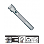 Maglite 3D Incandescent Flashlight S3D096, 101-067, Gray