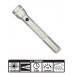 MagLite 3D Cell Incandescent Flashlight S3D106, 102-261, Silver Finish