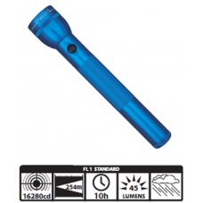 MagLite 3D Cell Incandescent Flashlight S3D116, 102-260, Blue Finish