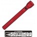 MagLite 4D Cell Incandescent Flashlight S4D036, 102-256, RED Finish