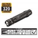 Maglite MAG-TAC LED Flashlight, SG2LRA6, Black, Crowned Bezel