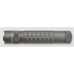 Maglite MAG-TAC LED Flashlight, SG2LRC6, Urban Gray, Crowned Bezel