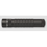 Maglite MAG-TAC LED Flashlight, SG2LRE6, Black, Plain Bezel