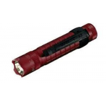 Maglite MAG-TAC LED Flashlight, SG2LRL6, Crimson Red, Crowned Bezel