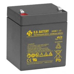 BB Battery, SHR7-12T2, 12v 3.5Ah VRLA SLA Battery