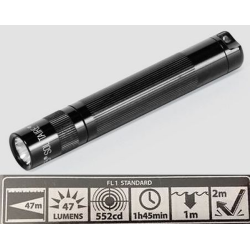 Maglite LED Solitaire Flashlight, SJ3A016, Black