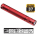 Maglite LED Solitaire 1AAA Flashlight, SJ3A036, 160-018, Red
