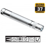 Maglite LED Solitaire 1AAA Flashlight, SJ3A106, 160-020, Silver