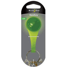Nite Ize SeeKey LED Keychain, Lime Green Plastic White LED SKE17-03-02