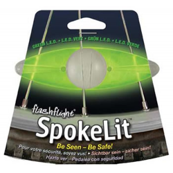 Nite Ize SpokeLit, Green LED Bicycle Light SKL-03-28