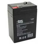 Interstate Battery, SLA0905, 6v 4.5Ah Sealed Lead Acid Battery, T1