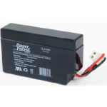 Interstate Battery, SLA1000, 12v 800mAh Sealed Lead Acid Battery, 2 position plug
