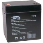 Interstate Battery, SLA1056, 12v 5Ah Sealed Lead Acid Battery, T2