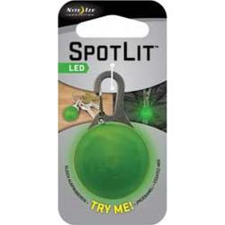Nite Ize Spotlit Personal LED, Lime Green SLG17-06-02