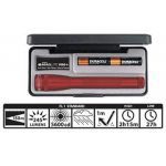 Maglite 2AA MiniMag Pro+ LED Gift Box, SP+P037, Red
