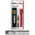 Maglite 2AA MiniMag Pro+ LED Flashlight w/Holster, SP+P03H, Red