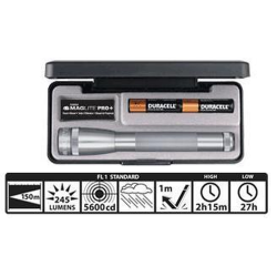 Maglite 2AA MiniMag Pro+ LED Gift Box, SP+P097, Gray