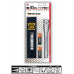 Maglite MiniMag Pro+ 2 Cell AA LED Flashlight w/Holster SP+P10H, 155-124, SILVER