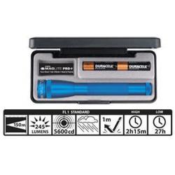 Maglite 2AA MiniMag Pro+ LED Gift Box, SP+P117, Blue