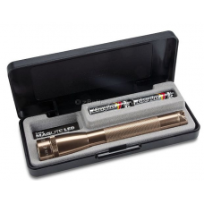 Maglite MiniMag 2 Cell AA LED Flashlight SP22JY7, 153-670, Copper, Gift Box