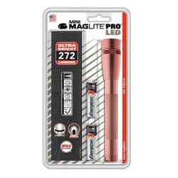Maglite MiniMag Pro 2 Cell AA LED Flashlight w/Holster SP2PSVH, 155-469, ROSE GOLD