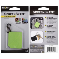 Nite Ize ScreenSkate Mobile Device | Smartphone Screen Cleaner, Lime