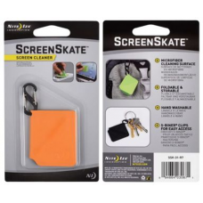 Nite Ize ScreenSkate Mobile Device | Smartphone Screen Cleaner, Orange