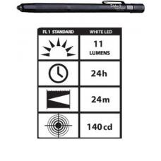 STYLUS3-BW Streamlight Stylus White LED Flashlight, Black, 65018