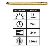 STYLUS3-GW Streamlight Stylus White LED Flashlight, Gold, 65024