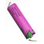Tadiran TL-2100T AA 3.6V Lithium Battery, w/Tabs