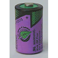 Tadiran TL-2150 3.6V 1/2 AA Lithium, 1000mAh TL-2150