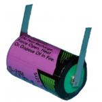 Tadiran TL-2150T 3.6v 1/2aa Lithium Battery W/tabs
