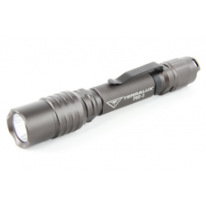 TerraLux PRO 3 Professional Series LED Flashlight, TLF-PRO3-GRY, Titanium Grey