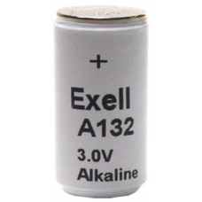 TR132A 3V Alkaline Battery (E132, PC132A, H-2P)