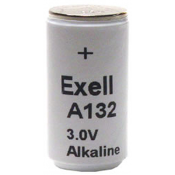 TR132A 3V Alkaline Battery (E132, PC132A, H-2P)