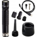 Maglite Mag-Tac Rechargeable LED Flashlight, TRM1RE4, 168-027, Black Plain Bezel